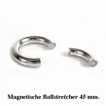Ballstretcher, rond en magnetisch, 45 mm diameter