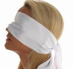 Blinddoek van 100% Polyester, wit