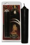 SM Kaars zwart, 17 cm lang (LAATSTE)